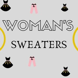 WOMAN'S SWEATER CATEGORY